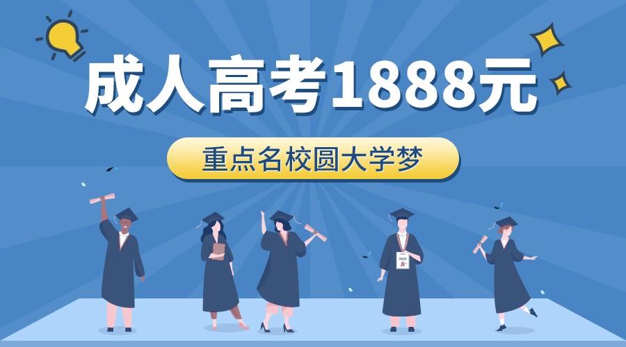 扁平教育培训成人高考banner